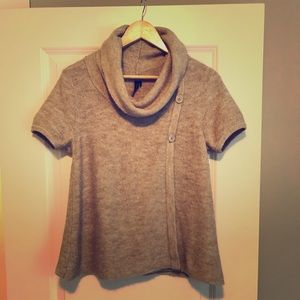 Topshop short sleeve sweater